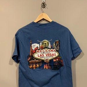 Harley-Davidson Shirts - Harley Davidson Las Vegas Nevada Biker T-Shirt